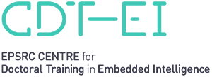 EPSRC Centre for Doctoral Training in Embedded Intelligence logo