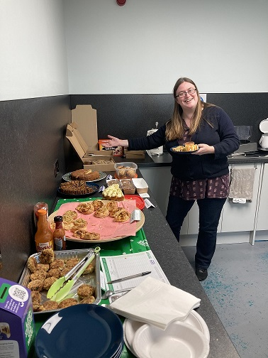 socially distanced coffee morning cakes and treats